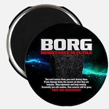 BORG RELENTLESS Magnet