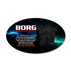 BORG RELENTLESS Wall Decal