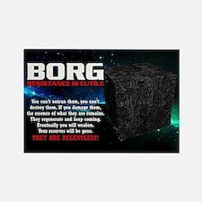 BORG RELENTLESS Rectangle Magnet