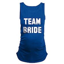 Team Bride Maternity Tank Top