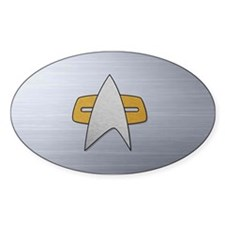 STARTREK VOY METAL Decal