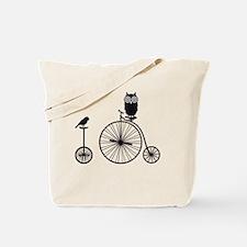 Unique Unicycles Tote Bag
