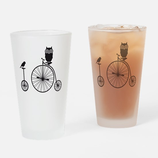 Funny Cool retro Drinking Glass