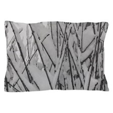 snowy Branches Pillow Case