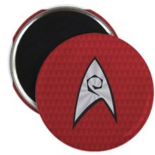 STARTREK TOS UNIFORM RED Magnet