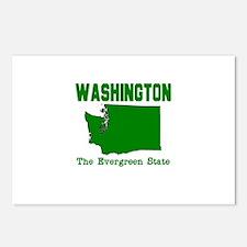 Washington . . . The Evergree Postcards (Package o