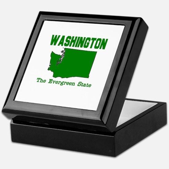 Washington . . . The Evergree Keepsake Box