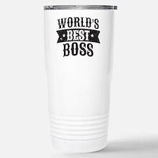 World's Best Boss Stainless Steel Travel Mug