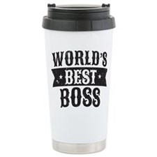 World's Best Boss Thermos Mug