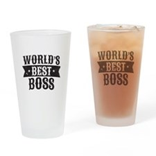 World's Best Boss Drinking Glass