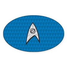 STARTREK TOS UNIFORM BLUE Decal