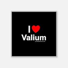 """Valium Square Sticker 3"""" x 3"""""""