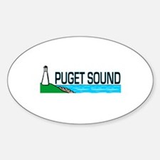 Puget Sound Oval Decal