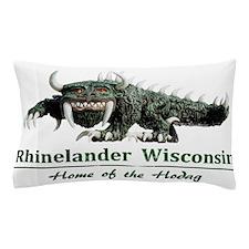 Hodag_Rhinelander.png Pillow Case