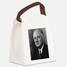 franklin rosevelt Canvas Lunch Bag
