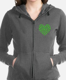 ! My Irish Heart copy.png Women's Zip Hoodie