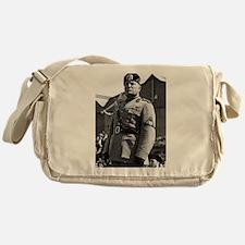 benito mussolini Messenger Bag