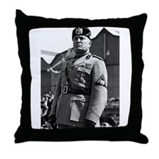 benito mussolini Throw Pillow