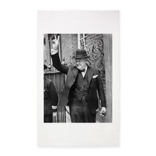 winston churchill Area Rug