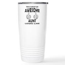 Unique Worlds okayest mom Travel Mug