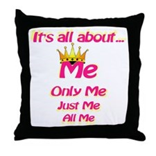All about me Throw Pillow