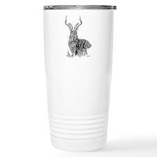 Funny Rabbit lover Travel Mug