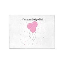 Baby Girl 5'x7'Area Rug