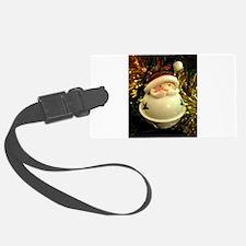 Santa Bell Luggage Tag