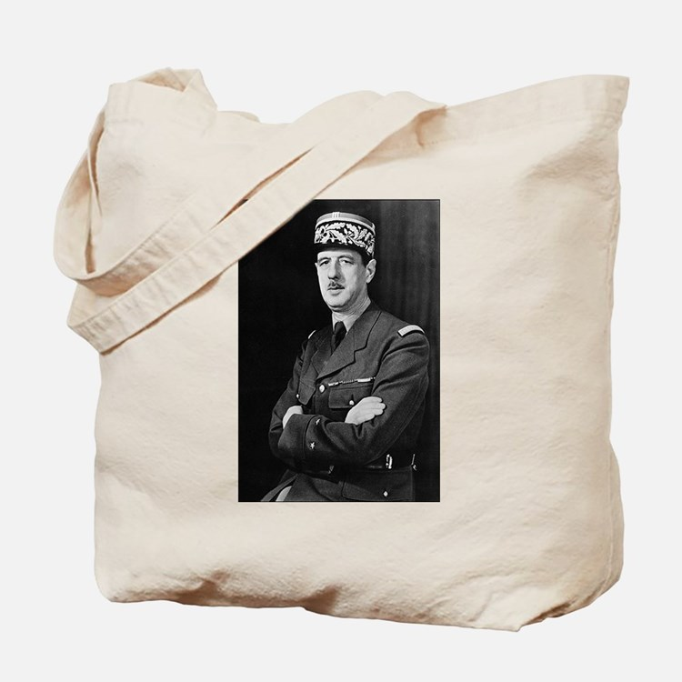 charles degaulle Tote Bag