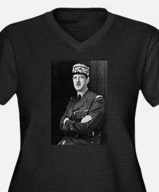 charles degaulle Plus Size T-Shirt
