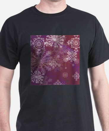 Purple Winter T-Shirt