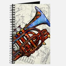 Unique Music and trumpet Journal
