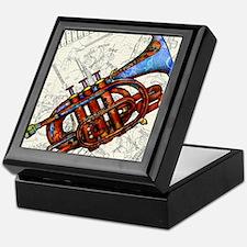 Cool Trumpet Keepsake Box