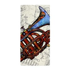 Funny Trumpeter Beach Towel