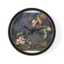 Drill Sergeant Wall Clock
