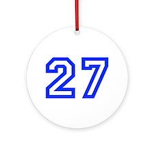 27 Ornament (Round)