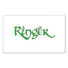 Ringer 20 Rectangle Decal