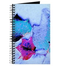 Snow-covered Leaves Journal