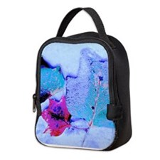 Snow-covered Leaves Neoprene Lunch Bag