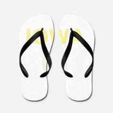 Iowa Basketball Flip Flops