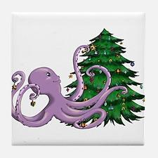 Octi Tree Tile Coaster