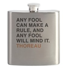 Any fool can make a rule, and any fool will Flask