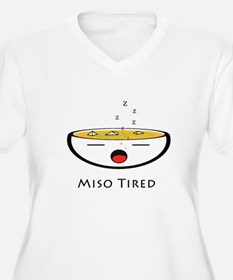 Miso Tired Plus Size T-Shirt