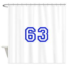 63 Shower Curtain