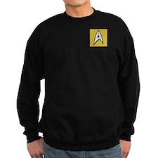STARTREK TOS DENIM GOLD Sweatshirt