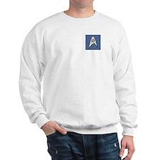 STARTREK TOS DENIM BLUE Sweatshirt