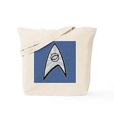 STARTREK TOS DENIM BLUE Tote Bag