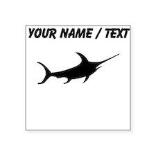 Swordfish Silhouette (Custom) Sticker