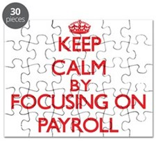 Keep Calm by focusing on Payroll Puzzle