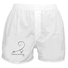 Downward cat Boxer Shorts